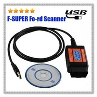 Wholesale Mondeo Code - 2016 F SUPER OBD2 Auto Car Diagnostic Tool Scanner Code Reader Cable for Ford Mondeo Fusion Focus
