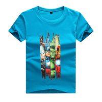 ingrosso ragazzi 11 anni-2017 ESTATE Primavera abbigliamento bambino RAGAZZO maglietta 3-11 anni moda bambini t-shirt per BOY hulk avengers hulk t-shirt manica corta ragazzi