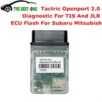 Wholesale tis software - DHL Free And Fast Tactrix Openport 2.0 + ECUFLASH Software ECU FLASH For Multi-Cars Open port 2.0 Cable Work For TIS Diagnosis