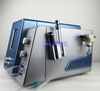 Wholesale Salon Microdermabrasion Equipment - EU tax free Hydro Dermabrasion Water Skin Rejuvenation Anti Aging Diamond Microdermabrasion Hydro Peeling Facial Machine Spa salon equipment