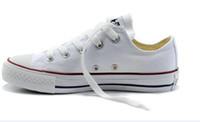 ingrosso prezzi elevati-Prezzo promozionale di alta qualità Prezzo di fabbrica! scarpe di tela femmininas da donna e da uomo, scarpe basse stile classico di alta / bassa scarpe da ginnastica scarpe di tela