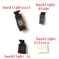 Wholesale Mobile Phone Watch Tv - 15set lot full backlight kit for iPhone 6 6plus Backlight IC Chip U1502 + backlight coil L1503 +D1501 diode , filters