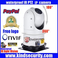 Wholesale Outdoor Mini High Speed Ptz - Free shipping 1080P 2MP ONVIF 36X MINI IR PTZ IP Camera Mini high Speed Dome Outdoor Waterproof PTZ IP camera