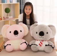Hot New Lovely Soft Animal Koala Plush Toy 50cm Big Stuffed Cartoon Koalas Pillow Kids Play Doll présente 20 ''