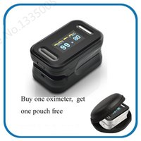 Upper Arm case upper - OLED Finger Blood Fulse Rate Monitor Fingertip Pulse Oximeter display pulsioximetro SPO2 PR oximetro de dedo with carrying case