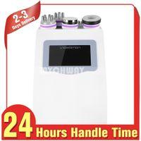 Wholesale 5in1 ultrasonic liposuction machine - Hot Seller 5in1 Ultrasonic Liposuction 40k Cavitation Radio Frequency Beauty Equipment Vacuum Bipolor Rf Machine Slimming