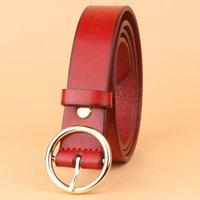 Wholesale Lady Jeans Belt - Women Belt Female Strap High Quality Designer Belt Ladies 100% Genuine Leather Jeans Belts For Women free shipping