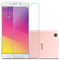 Wholesale oppo screen - Premium Tempered Glass Screen Protector For OPPO R9 R9S R10 R11 Plus Toughened Protective Film With Retail Package