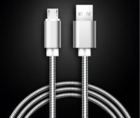 Wholesale Free Blackberry Housing - 1M Micro USB Cable Durable Tinning High Speed Charging USB Type C Cable with Metal Housing Braided Cable Stock Free shipping