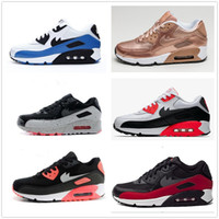 Wholesale Hot Pink Clay - 2016 Hot Sale Air 90 Men Running Shoes Top Quality New Classical Cheap Sneakers Cushion 90 Sports Shoes EUR 36-46