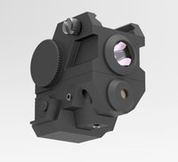 Wholesale Green Rail Laser - Mini Tactical Sub Compact Rail Mount Green Laser Sight with High Lumen CREE LED Flashlight Light Integrated Combo with Strobe for Pistol