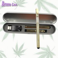 Wholesale Wholesale Batter - Golden glass cartridge touch batter Kit Vaporizer bud touch 280mAh battery O pen Cartridge atomizer Vapor WAX thick Oil tank e cigs vape
