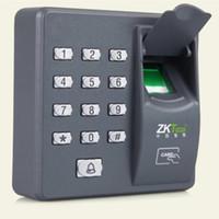 portes biométriques achat en gros de-Fingerprint Mot de Passe Serrure Verrouillage D'accès Machine De Commande Biométrique Serrure De Porte Électronique RFID Lecteur Scanner Système
