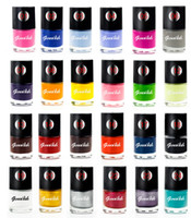 Wholesale Nail Art 24 Colors - 2017 genailish Nail Polish & Stamp Polish 24 Colors Stamping Lacquer Varnish for Nail Art Tools-GC