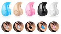 Mini Auriculares inalámbricos S530 V4.1Bluetooth Auricular Auriculares Auriculares Auriculares con micrófono para iPhone y Adroid Mix Color