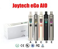 Wholesale Ego V8 - Top Quality Joyetech eGo AIO Starter Kit eGo All-in-One Vape Pen with 1500mAh 2ML Atomizer vs Subvod iJust S Stick V8 Vapor E Cigarettes