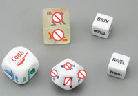 Wholesale Hot Sex Dice - HOT Flirt Toy Sex Dice, 5 designs pack, Sex Toys, Adult Products, Fun Toys, sex toys for couples luminous dices