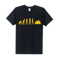 Wholesale Motorcycle Short Sleeve - MOTORBIKE T Shirts Men MOTORCYCLE APE TO EVOLUTION T Shirt 2016 Summer Short Sleeve O-Neck Cotton Men Fahion T-shirt Tops OT-005