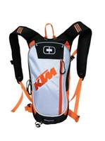 motorrad-rennpaket großhandel-Freies Verschiffen Motorrad Motocross KTM Trinkrucksack neue Stil Taschen Reisetaschen Rennpakete Fahrradhelm Pack BB-KTM-06