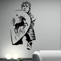 Wholesale Diy Adornment Sticker - 9937 Lord of the rings game character wall post DIY color PVC wall adornment art TV sitting room