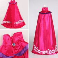 Wholesale Sleeveless Mandarin Collar Dress - New tutu dress Cloak party dress Poncho baby Girls dance dress costume Elsa cape C2271