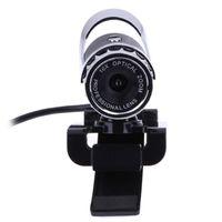 Wholesale Hd Computer Video Camera - USB 12.0 Mega Pixel HD USB Webcam Web Camera Digital Video 8mm-infinity Webcams 360 Degree MIC for Computer PC Laptop L3EF