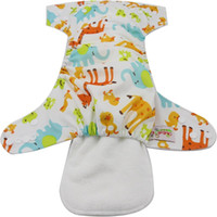 Wholesale Diaper Cover Inserts - 10pcs lot Reusable Cloth Diaper Inserts Washable Diapers 2016 Brand Baby Care Products Newborn Diaper Cover Insert Couche Lavable