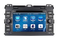 Wholesale Toyota Land Cruiser Aux - Auto Radio Car DVD Player for Toyota Land Cruiser Prado 2002-2009 with GPS Navigation BT TV USB SD AUX Map Audio Video Stereo