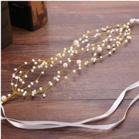 Wholesale Cheap Stone Accessories - Cheap Fashion Beads Pearls bridal headbands bridal headpieces wholesaler bridal accessories