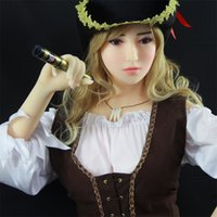 Wholesale Love Dolls For Men - 165cm Full Body Silicone Soft Sex Doll Solid Life Like Very Real Doll Sex-Toys for Man Adult Male Love Toy Masturbation