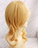 Wholesale Puella Magi Madoka - Wholesale free shipping >>>> 225 Puella Magi Madoka Magica Tomoe Mami Cosplay Wig