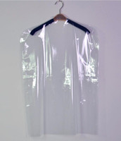 Wholesale Plastic Suit Bags - Plastic Transparent Clothes Suit Garment Dustproof Cover Hanging Storage Bag New