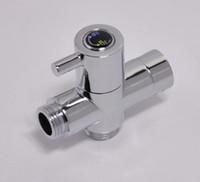 "Wholesale Valve Polishing - Brass Valve Core For Toilet Bidet Sprayer And Shower Brass G1 2"" T-adapter Chrome Free Shipping"