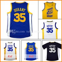 Wholesale Men T Shirts Stars - Men's 35 Kevin Durant Basketball Jerseys Youth Kid's Embroidery 2017 All star Christmas Edition 35 Kevin Durant Jersey sleeve T-shirt