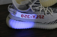 Wholesale Lace Socks For Boots Wholesale - 2017 Wholesale Kanye West Boost 350 SPLY V2 Season 3 Stealth Zebra CP9654 SPLY-350 Running for Men Women With Box ,Socks
