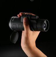 Wholesale Mini Night Outdoor - Free shipping 35x50 zoom mini Monocular Telescope hd night vision scope telescop outdoor hunting military monoculars binoculars