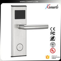Wholesale Electronic Door Locks Key - High quality hotel door access system digital Electric Promotion intelligent Electronic hotel key card door lock