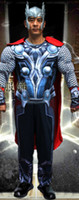 Compra Scienza America-Con uomo muscolare Superman Ironman, Batman, Captain America, Spider-Man 2, Thor Science fantasy superhero muscolo suit