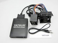 Wholesale E83 Bmw - Yatour YT-M06 For BMW Rover 75 17-pin E36 E46 E39 E38 X3 X5 E83 Z3 Car USB MP3 SD AUX adapter Digital CD Changer interface