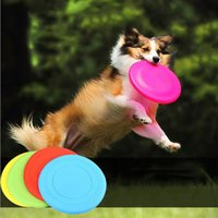 Wholesale Soft Flying Disc Dogs - Soft foldable pet Dogs Frisbee toys flying disc trainning silicone soft Frisbee pet Frisbee toys pet training dog supplies