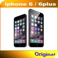 iphone 64gb kilidi toptan satış-100% Orijinal Apple iPhone 6/6 Artı Cep telefonu 4.7