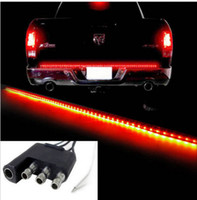 Wholesale Truck Led Strip Lighting - 60inch 12v 150cm 5 function car Led bar Sealed SUV LED Function Rear Tailgate Brake Light Bar Strip pick-up car pickup trucks
