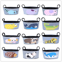 Wholesale Buggy Pouch - Baby Kids Stroller Organizer Baby Carriage Pram By Cart Bottle Bags Stroller Accessories Mommy Bag pannier saddlebag Pouch Free Dhl MPB07