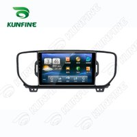 Wholesale Dvd Player 3g - Quad Core 1024*600 Android 5.1 Car DVD GPS Navigation Player Car Stereo for Kia SPORTAGE KX5 2016 Headunit Radio Deckless Bluetooth 3g Wifi