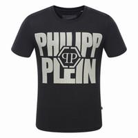 Wholesale Long Shirt Trend Men - 2017 summer new trend special letter print men's T-shirt MEN'S round-neck t-shirt short sleeve t-shirt Free shipping