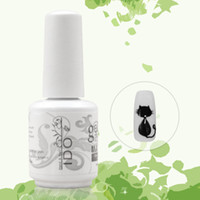 Wholesale Ido Nail Polish - Art Nail Gel IDO gelpolish Free Shipping French art Uv Primer nails 12pcs manicure Matte Top coat