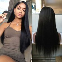 Wholesale long braiding hair weave for sale - Fills My hair Braided Hair Wig Human Female Weaving The Wavelength Of Wig Virgin Brazilian Human Hair Is Full Lace Wig My Shoes And