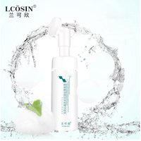 Wholesale Oil Control Face Wash - LCOSIN Big bottle Amino acid cleanser with silicone brush head face cleaner, brush, face exfoliator Blackhead Cleanser face wash