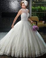 Wholesale Dresses Size Weding - Luxury Princess Ball Gown Wedding Dress Vintage Wedding Gowns Weding Bridal Bride Dresses Weddingdress vestidos de novia