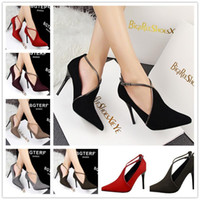 Nizza Gdgydh Frühling Strap Crystal Dick Ferse Ultra High Heels Schuhe Frau Plattform Open Toe Velvet Single Schuhe Damen Pumps